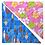 Thumbnail: Turquoise Surfboard 3 / Pink Plumeria 4 Bandanna