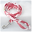 Thumbnail: Red Hibiscus 5 Collar & Leash