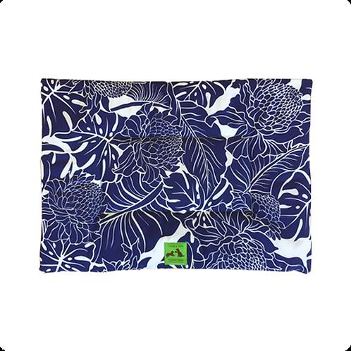 Hiolani(ヒオラニ)・ペット・マット - プロテア 紺色