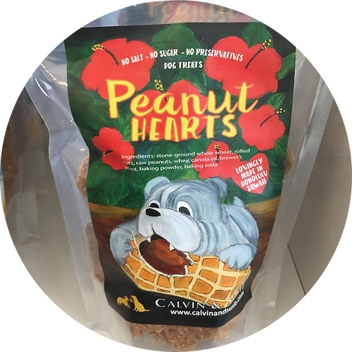Peanut Hearts Original Pet Treat