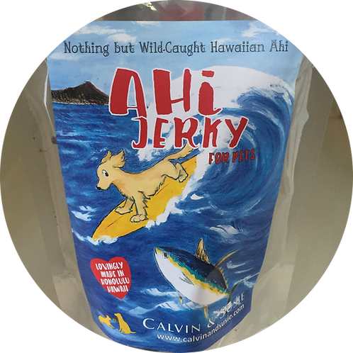 Ahi Jerky Original Pet Treat