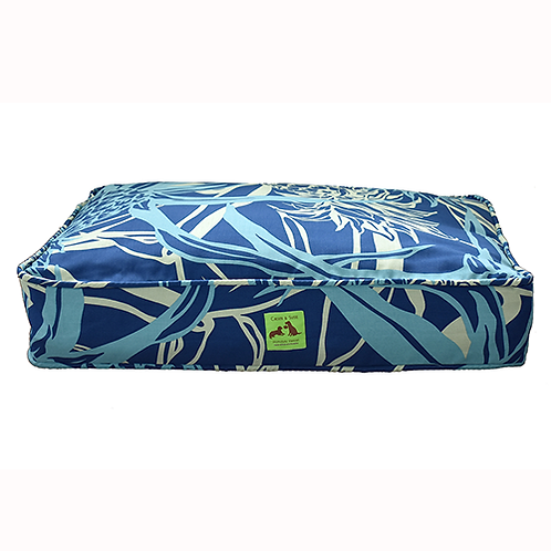 Aloha Bed - Navy Pineapple Cover