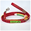 Thumbnail: Red Surfboard 3 Collar & Leash