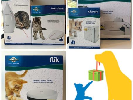 カルビン&スージー・猫の動くおもちゃ