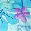 Thumbnail: Turquoise Leaves 3 Sundress