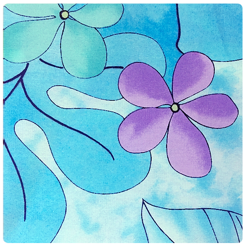 Turquoise Leaves 3 Sundress