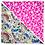 Thumbnail: Beige Aloha / Pink Hibiscus 7 Bandanna
