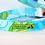Thumbnail: Turquoise Leaves 2 Collar & Leash