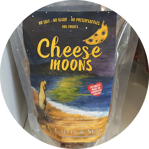 Cheese Moons Original Pet Treat