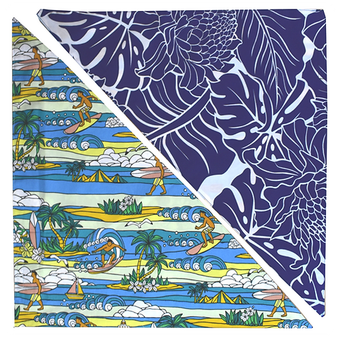 Blue Lighthouse / Blue Protea Bandanna