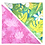 Thumbnail: Green Leaves / Pink Coral Bandanna