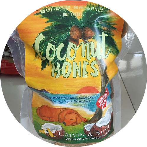 Coconut Bones Original Pet Treat