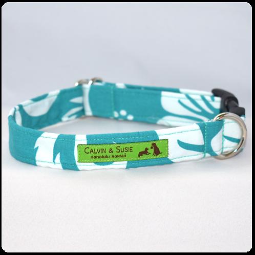 Seafoam Hibiscus 3 Collar