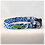 Thumbnail: Blue Monstera 4 Collar & Leash