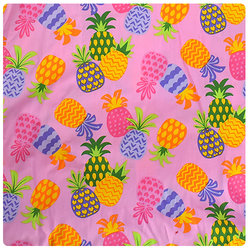 Pink Pineapple 4 Sundress