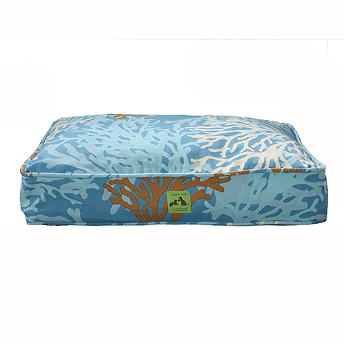 Aloha Bed - Blue Coral Cover