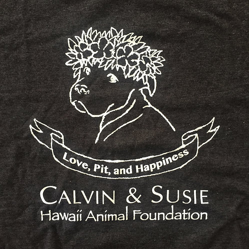 """""""Love, Pit, and Happiness"""" Puppy Shirt"""
