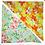 Thumbnail: Sky Hibiscus 8 / Orange Turtles 2 Bandanna