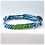 Thumbnail: Blue Monstera 2 Collar & Leash