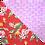 Thumbnail: Red Byrds / Pink Pineapple 3 Bandanna