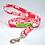 Thumbnail: Red Hibiscus 4 Collar & Leash