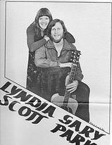 Lyndia Scott & Gary Parks Gig Poster, 19