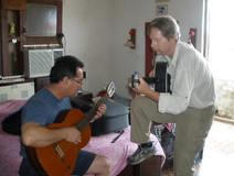 Gary & Enrique Playing in Santa Clara.jp