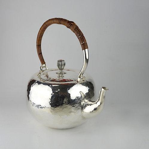 (1805) 籐編提樑-蘋果形大煮水壺