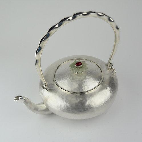 (1706) 豆莢提樑-青玉鈕