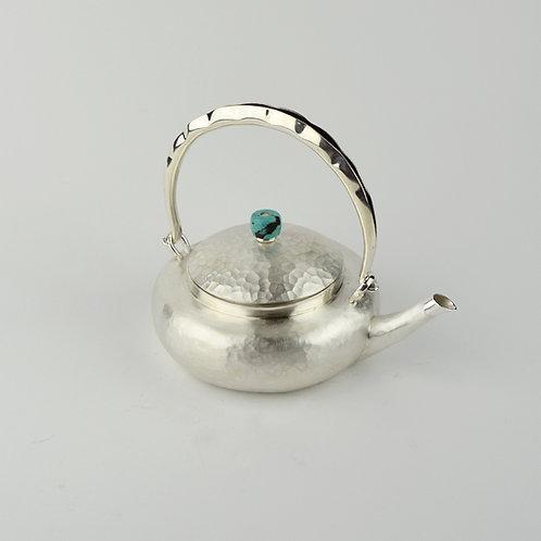 (1803) 小提樑-豆莢提把綠松石鈕