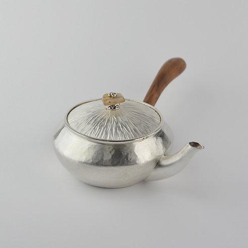 (1701) 龍柏側把-玉髓鈕