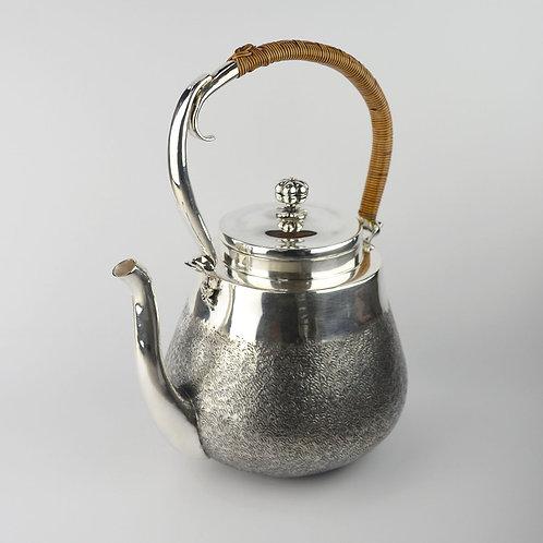 (1811) 煮水壺-柚子型籐編提樑