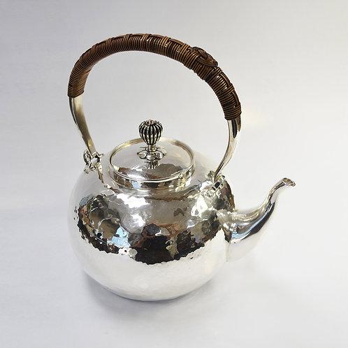 (1806) 籐編提樑-蘋果形小煮水壺