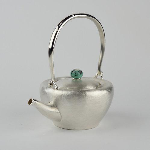 (1718) 小提樑-綠松石鈕