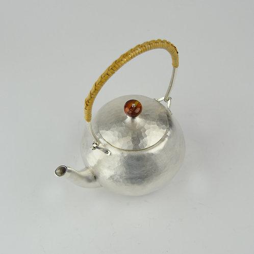(1716) 小提樑-紅瑪瑙鈕