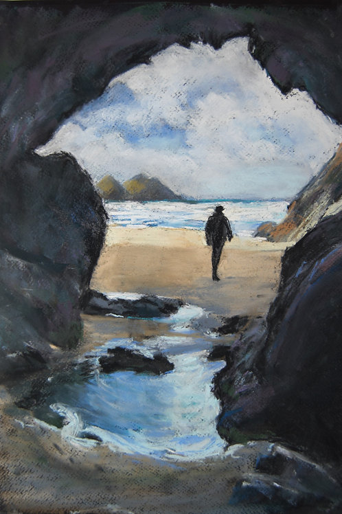 Out of Holywell Cave by Patricia Mattock