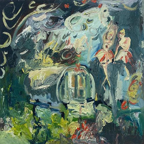 The Gypsy Wagon and Degas' Dancers by Francesca Owen