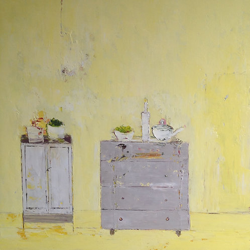 Yellow Interior by Lorraine Wake