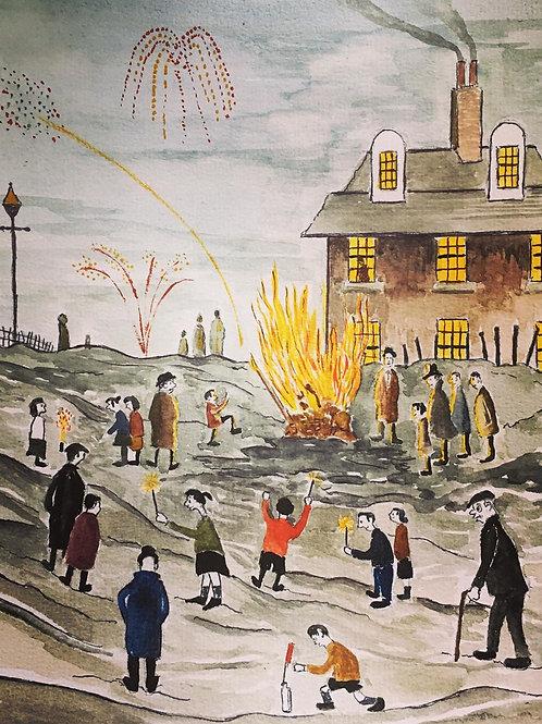 Bonfire Night 5th November by David J Ansell