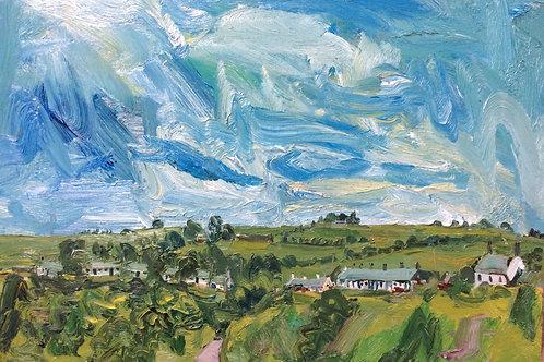 Catterline Summertime by Stuart Buchanan