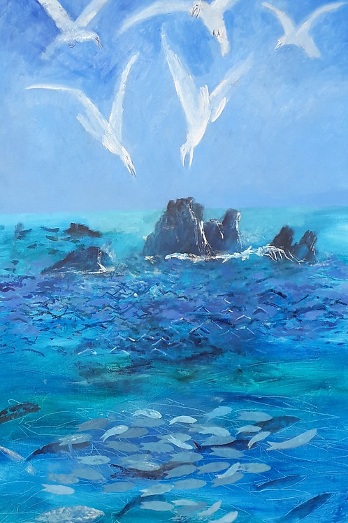 The Sea by Richard Sorrell