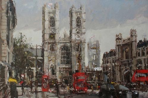 Westminster Abbey by Robert E Wells
