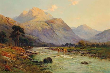 The Slopes of Ben Nevis - Alfred de Breanski Jnr (1877 - 1955)