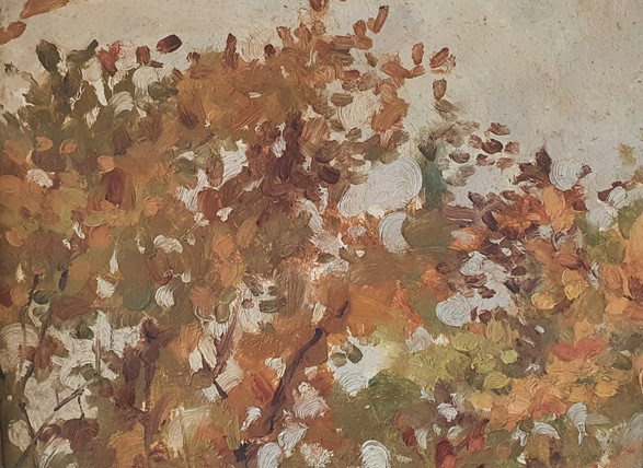 Leaves - Thomas Cooper Gotch (1854 – 1931)