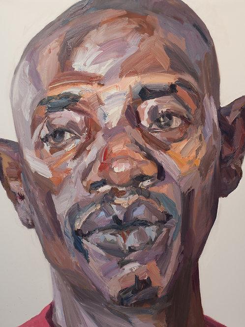 Abdulai, Ebola survivor, Free Town, Sierra Leone by Tim Benson