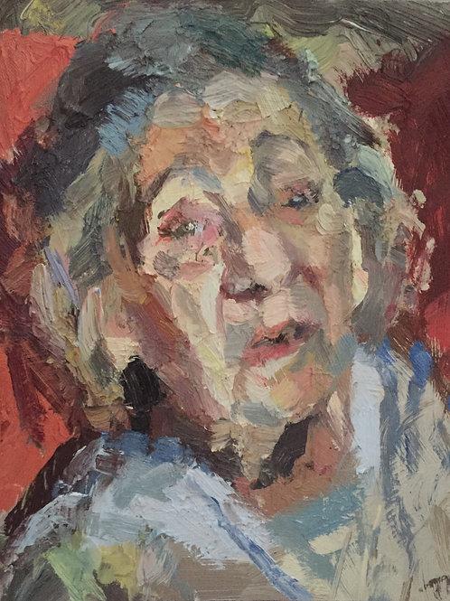Elderly lady by Tim Benson
