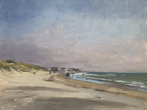 A Stroll on the Beach by Karl Terry