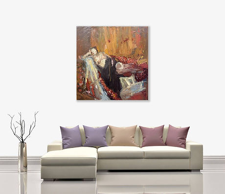 dreaming-on-the-red-indian-sofa-by-paul-
