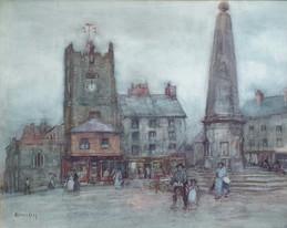 The Memorial - Sir Alfred East (1844 - 1913)
