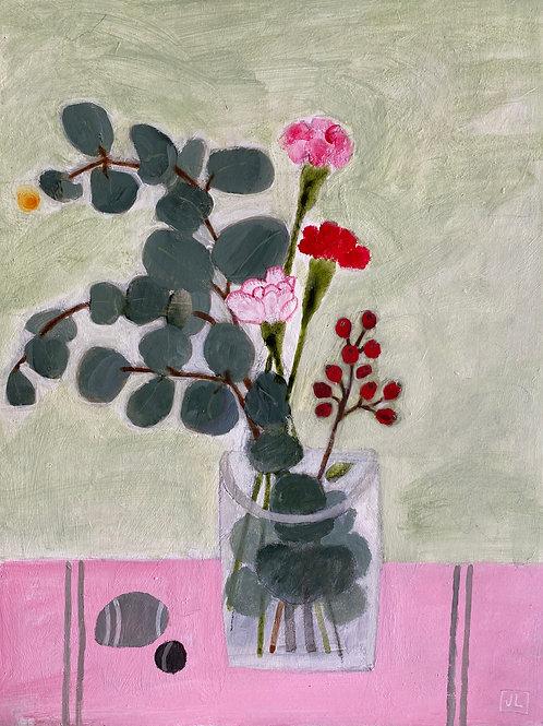 Three Pinks by Jill Leman